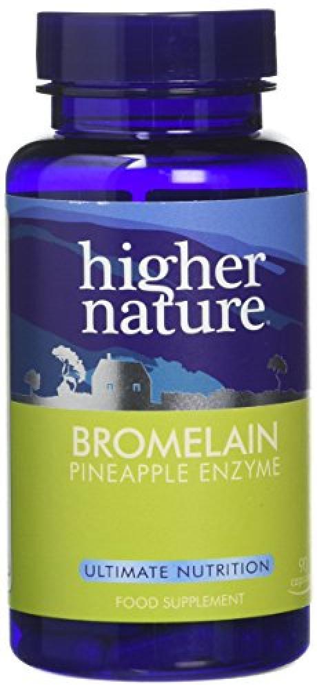 Higher Nature Bromelain Capsules Pack of 90
