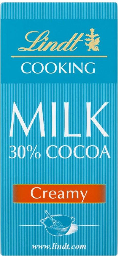 Lindt Cooking Bar 30 Cocoa Creamy 180g