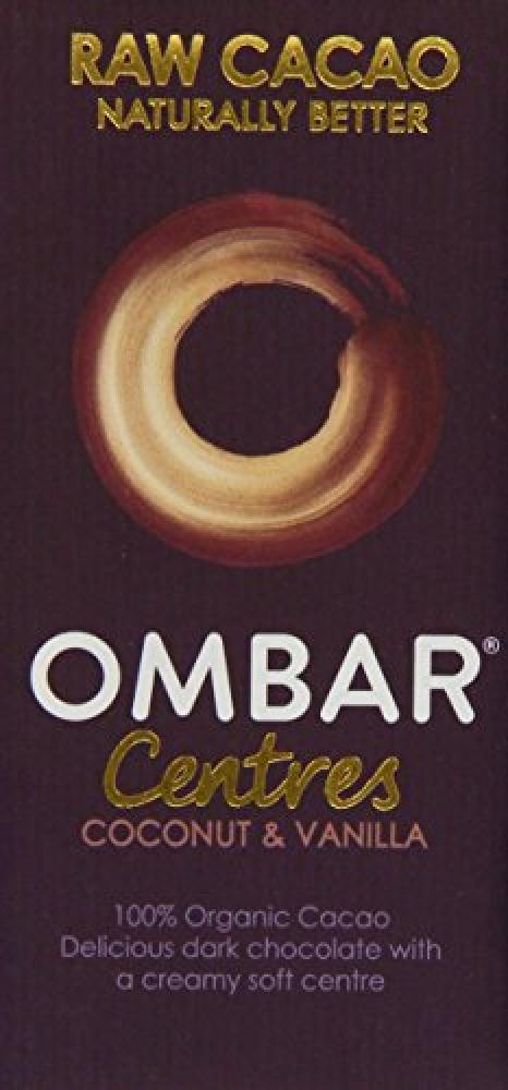 Ombar Coconut and Vanilla Chocolate 35 g