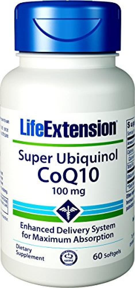 Life Extension Super Ubiquinol CoQ10 (100mg60 Softgels)