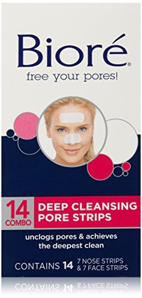 Biore Free Your Pores Deep Cleansing Pore Strips Pack of 14