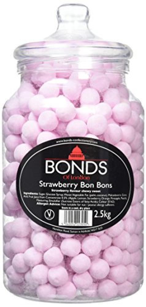Bonds Candies Jar Strawberry 2500kg
