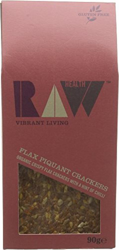Raw Health Organic Piquant Tom Crackers 90 g