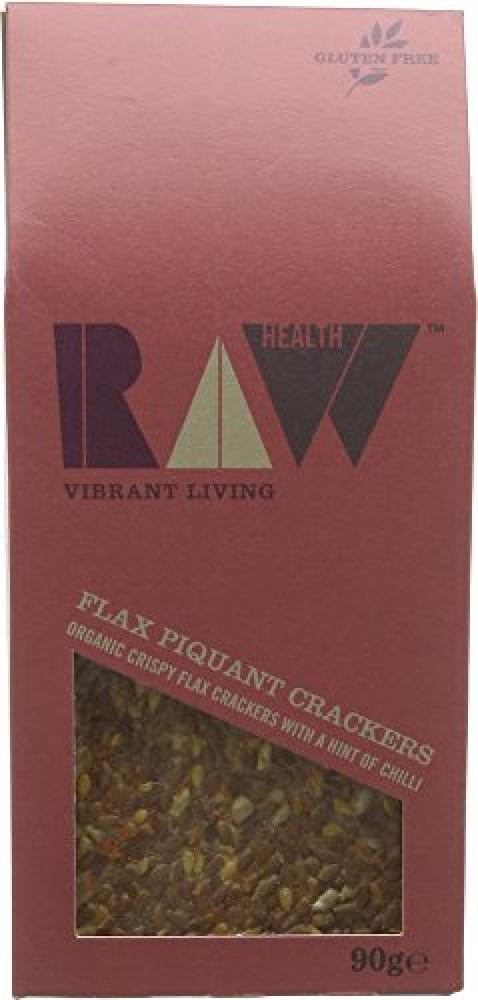 Raw Health Organic Piquant Tom Crackers 90g