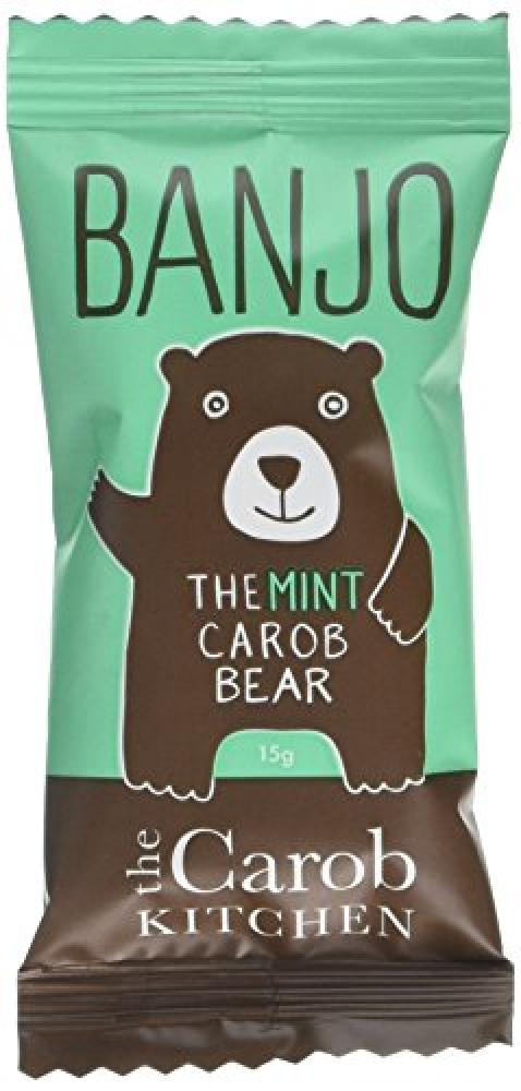 The Carob Kitchen Banjo Mint Carob Bear Bars 15g