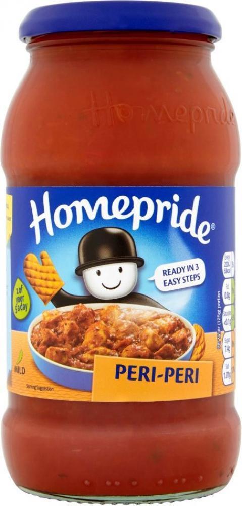 Homepride Peri Peri Cooking Sauce 485g