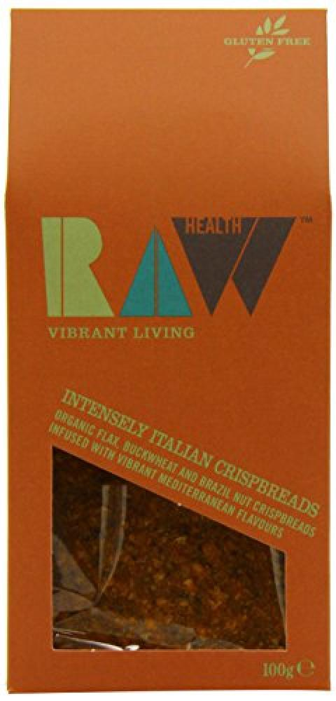 Raw Health Organic Intense Italian Crispbread 100 g