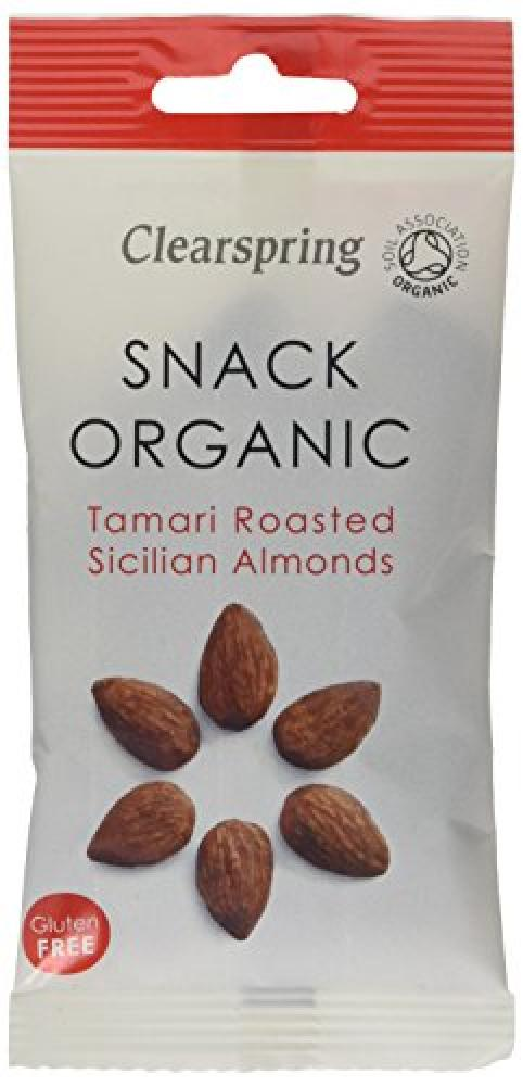 Clearspring Organic Tamari Roasted Sicilian Almonds 30 g