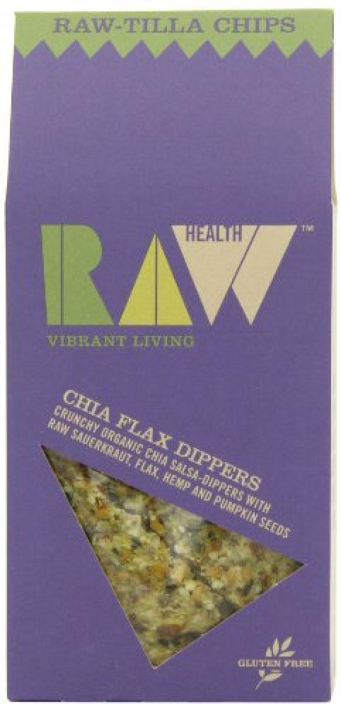 Raw Health Organic Chia Flax Dippers 60 g