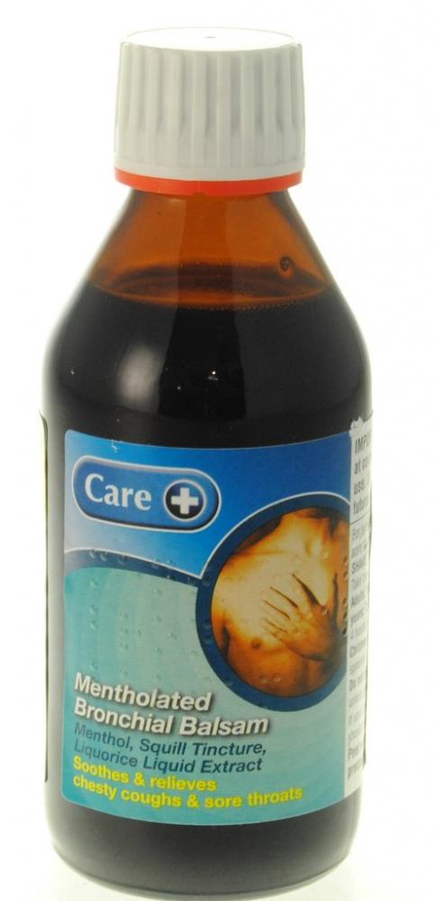 Care Mentholated Bronchial Balsam 200ml