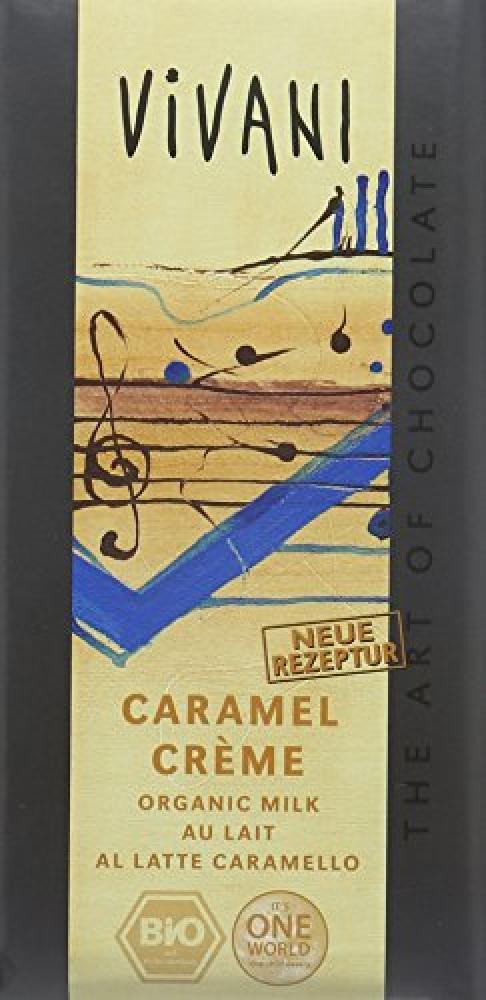 Vivani Caramel Creme Chocolate 100g
