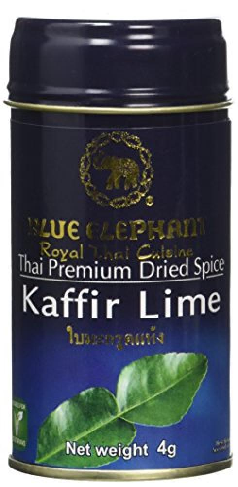 Blue Elephant Royal Cuisine Thai Premium Dried Spice Kaffir Lime 4g