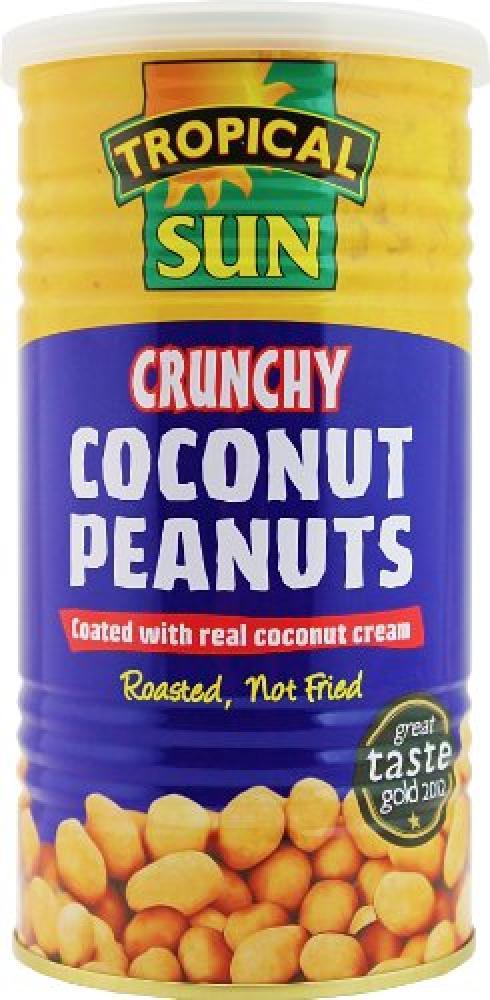 Tropical Sun Crunchy Coconut Peanuts 330 g