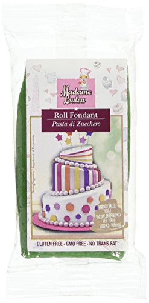 Madame Lou Lou Rolled Fondant Brilliant Green 100g