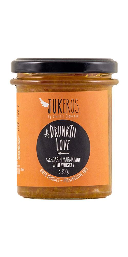 Jukeros Drunkin Love Mandarin Marmolade With Whiskey 250g