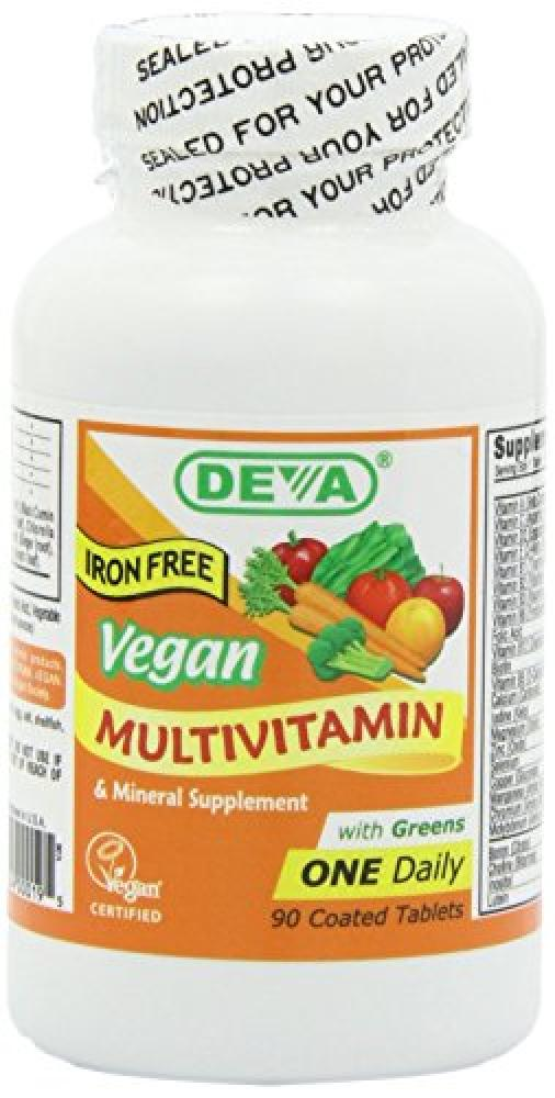Deva Curl Vegan Multiwitamin And Mineral 90 Tablets