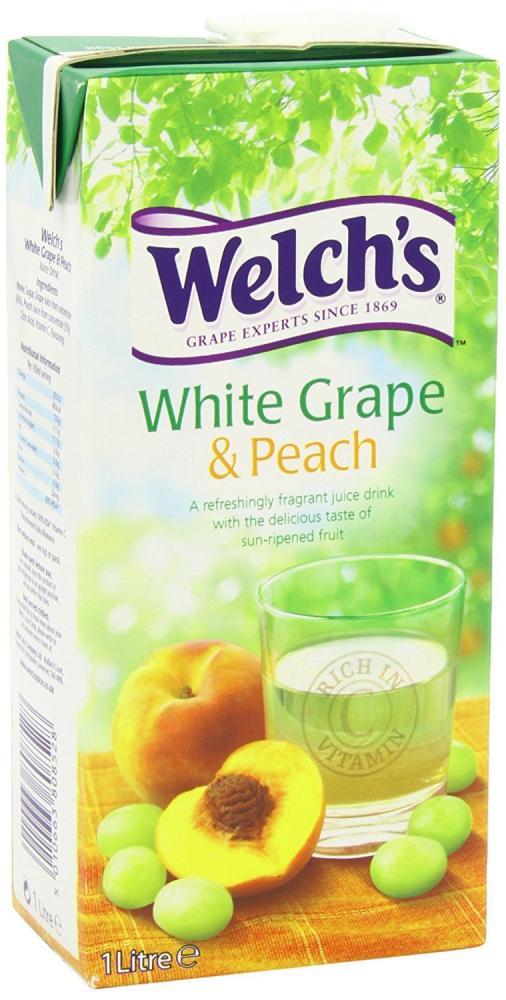 Welchs White Grape and Peach 1l