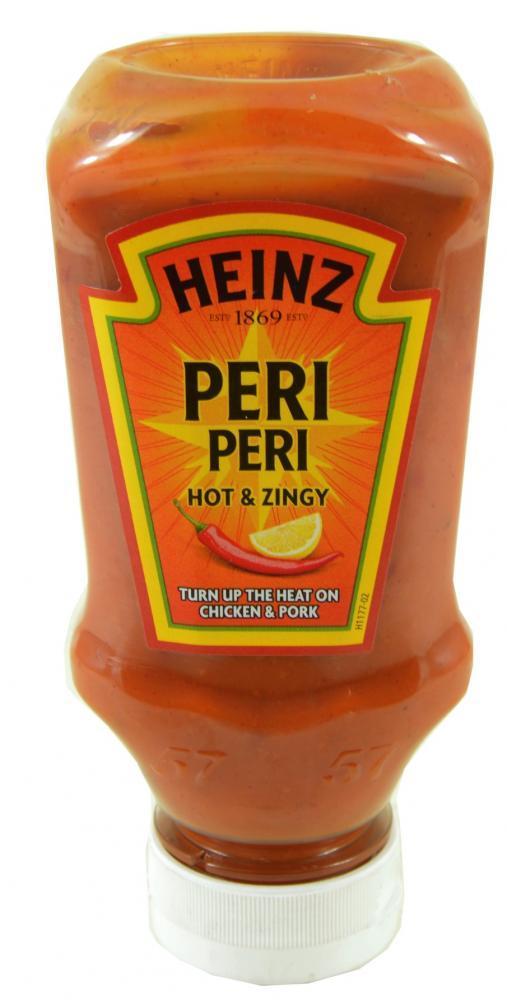 Heinz Peri Peri Hot and Zingy Sauce 220ml