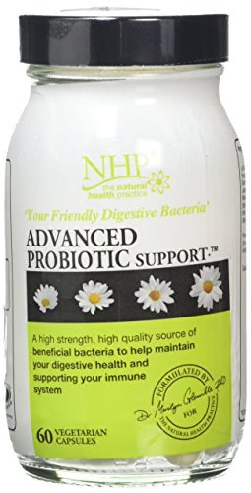 Natural Healthy Practice Advanced Probiotic Support 60 Capsules