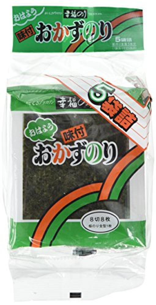 Takaokaya Seasoned Laver Seaweed 8 Pieces 2.7g