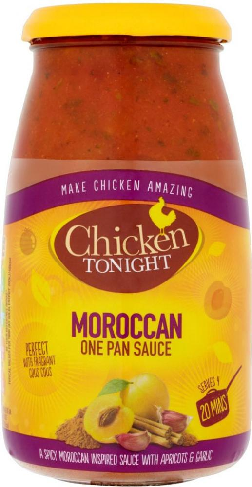 Chicken Tonight Moroccan One Pan Sauce 500g
