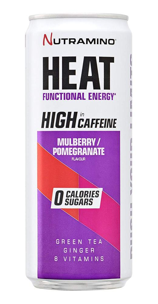 Nutramino Heat Energy DrinkMulberryPromoganate 330ml