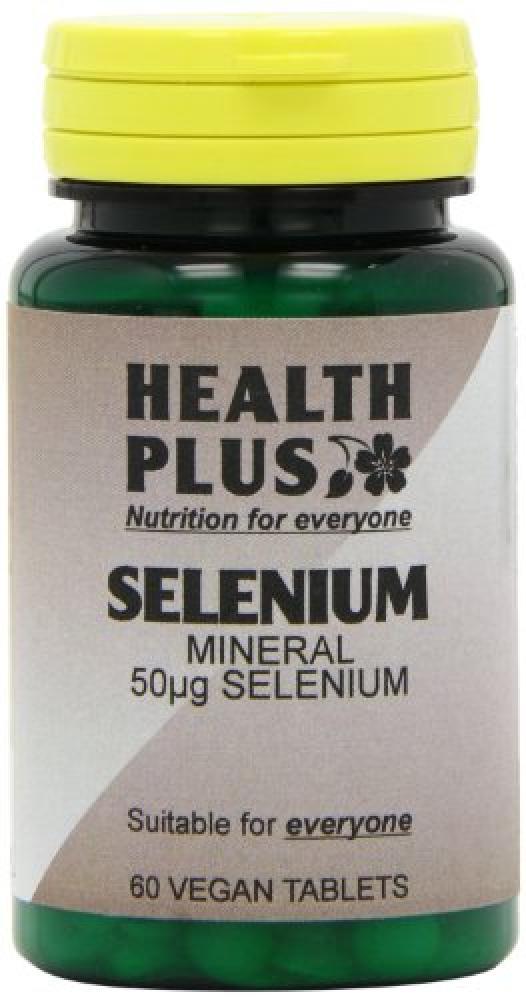 Health Plus Selenium 50g Mineral Supplement 60 tablets
