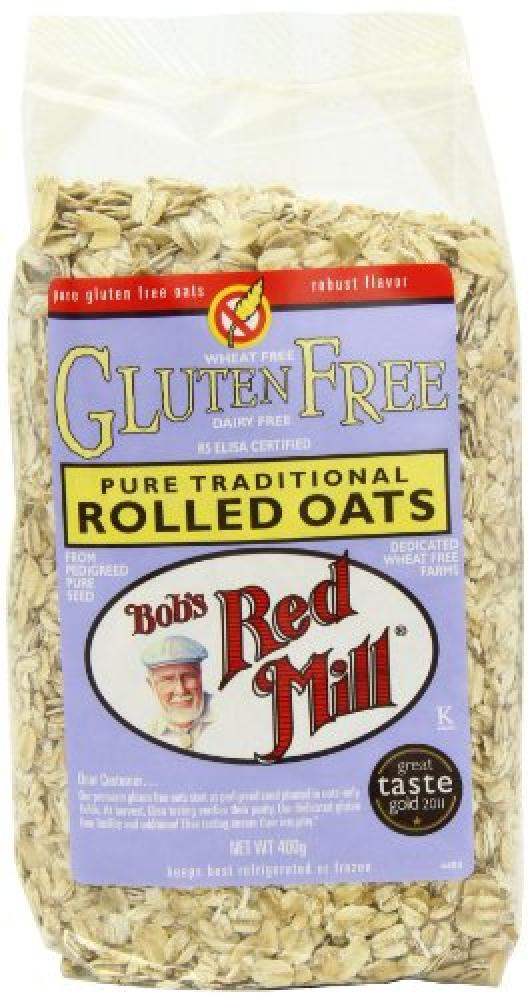 Bobs Red Mill Natural Foods Wholegrain Pure Rolled Oats 400 g
