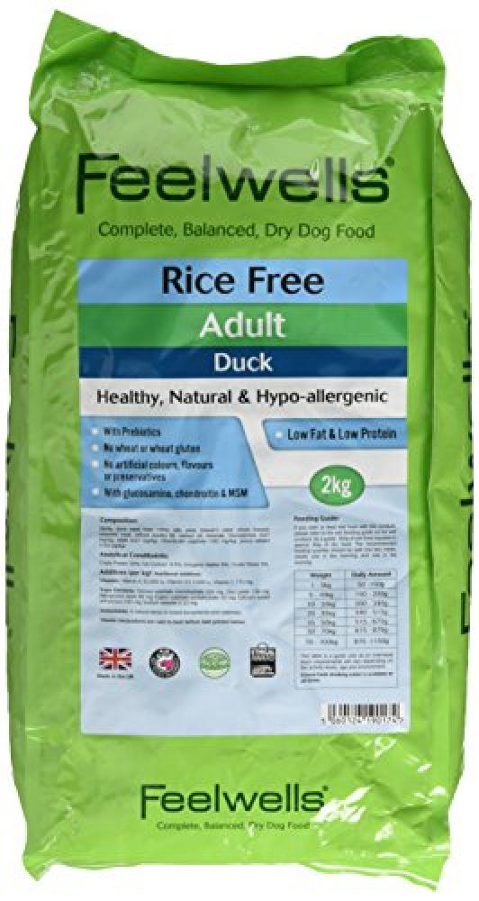 Feelwells Rice Free Complete Dog Food Adult Duck 2kg