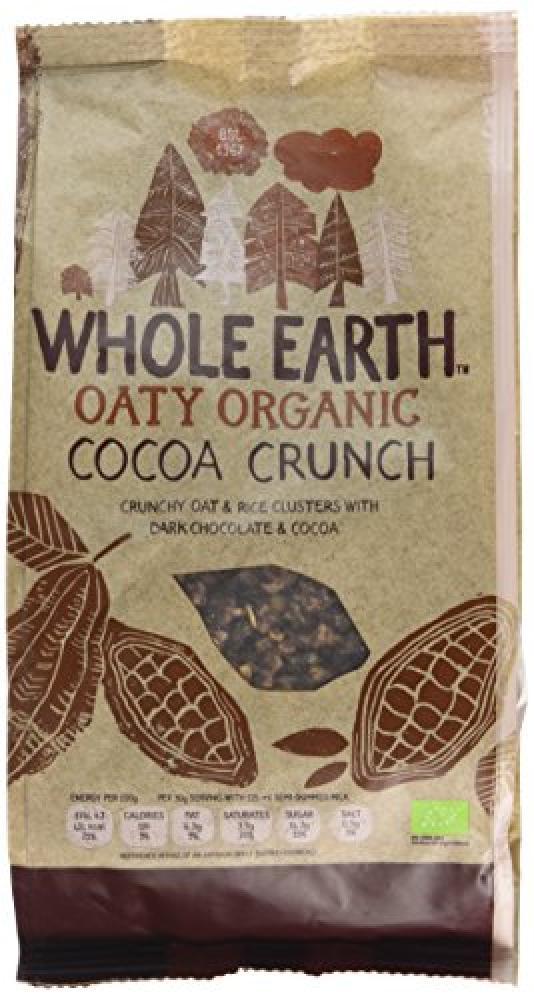 Whole Earth Oaty Organic Cocoa Crunch 375g