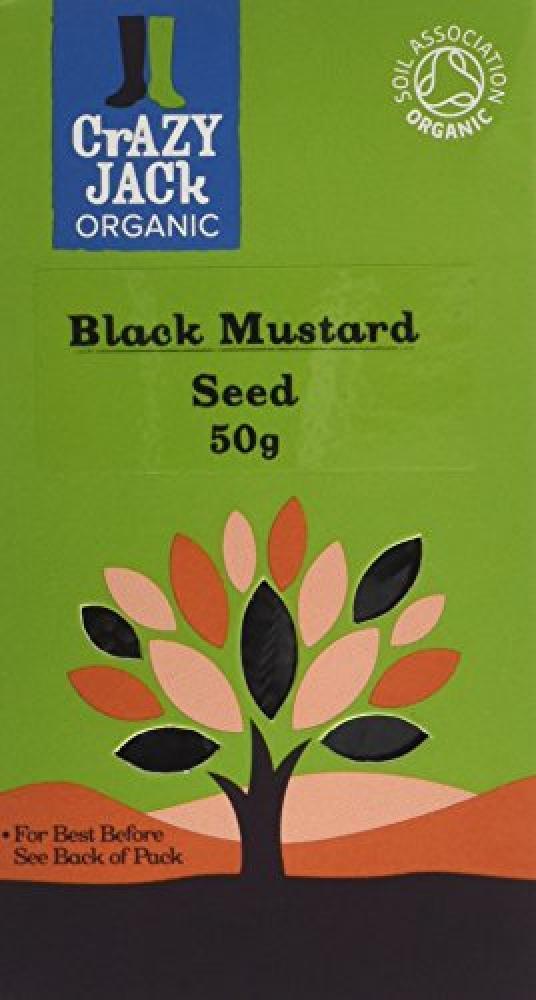 Crazy Jack Black Mustard Seed 50g