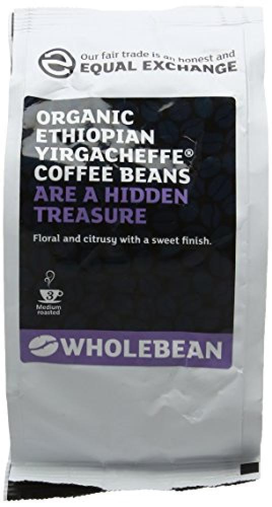Equal Exchange Organic Ethiopian Yirgacheffe Coffee Beans 227g