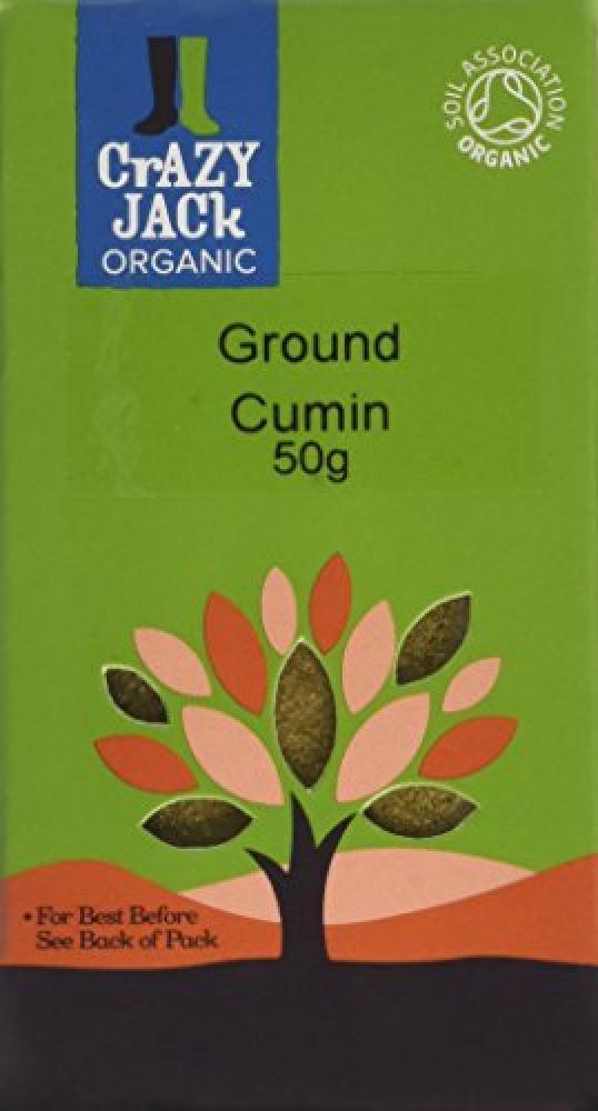 Crazy Jack Organic Ground Cumin 50 g