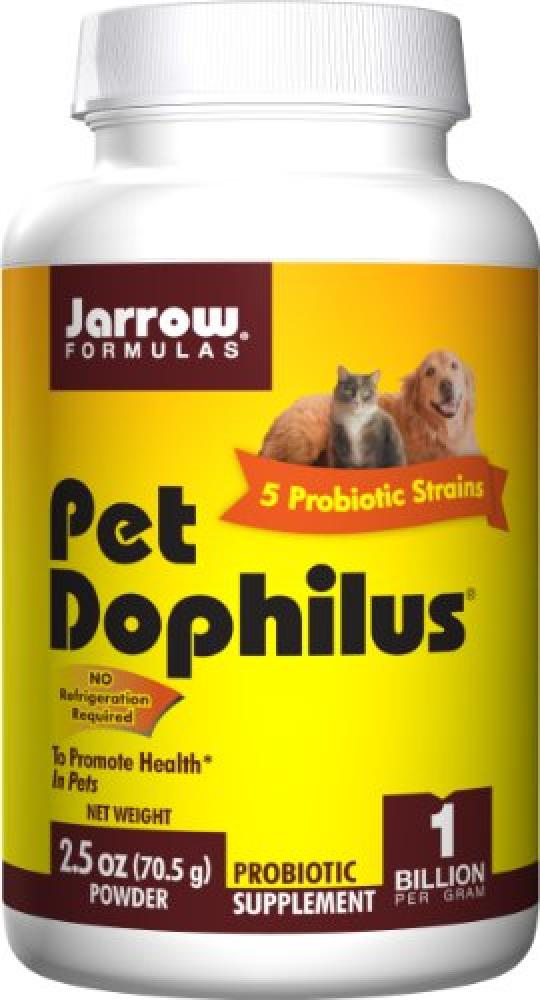 Jarrow Formulas Pet Dophilus (2.5oz PowderProbiotic Supplement