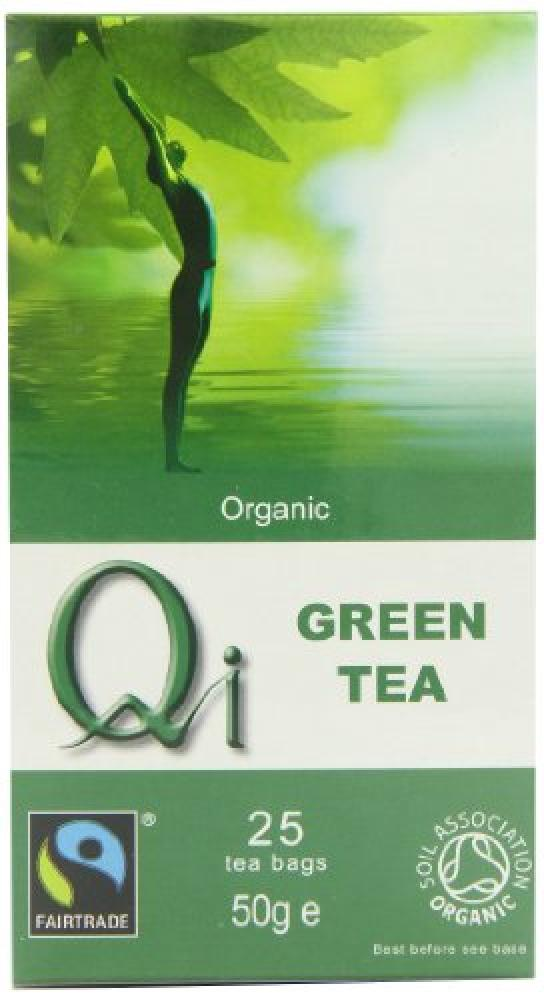 Qi Organic Green Tea 25 Teabags