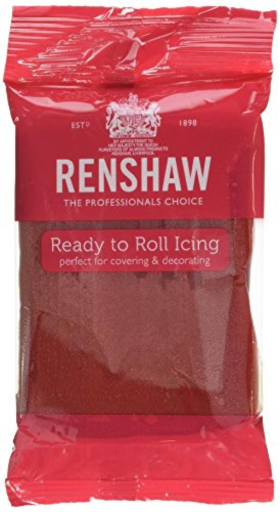 Renshaw Ruby Red Ready to Roll Icing 250g