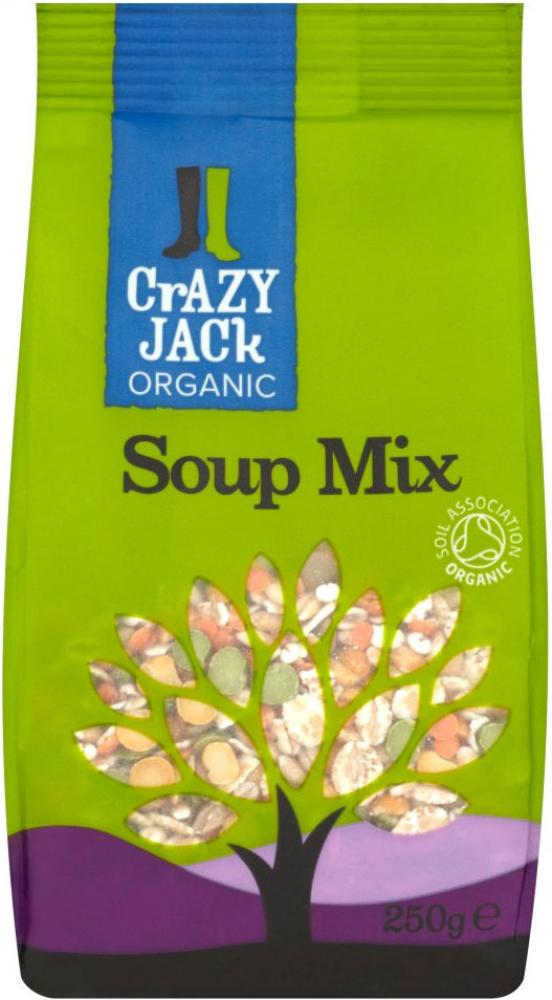FURTHER REDUCTION  Crazy Jack Organic Soup Mix 175g 175g