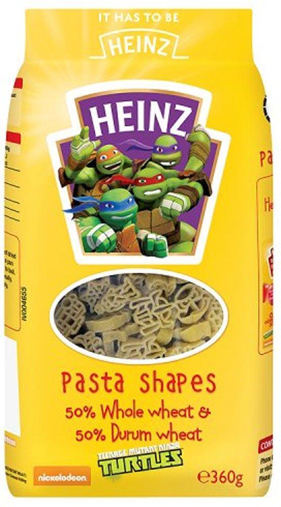 Heinz Teenage Mutant Ninja Turtles Pasta Shapes 360g