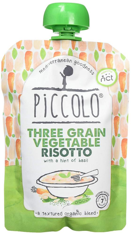 Piccolo Three Grain Vegetable Risotto 130g