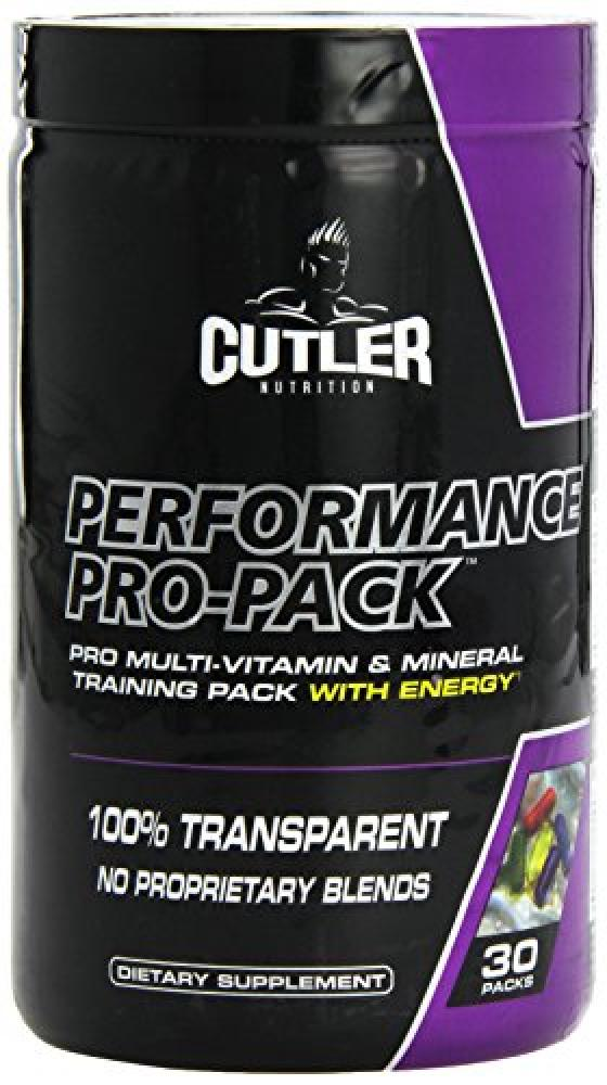 Cutler Nutrition Performance Pro Capsules Pack of 30