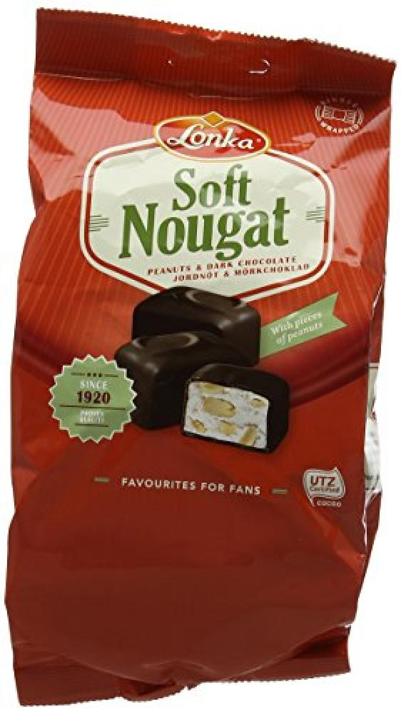 Lonka Peanuts And Dark Chocolate Soft Nougat 132g