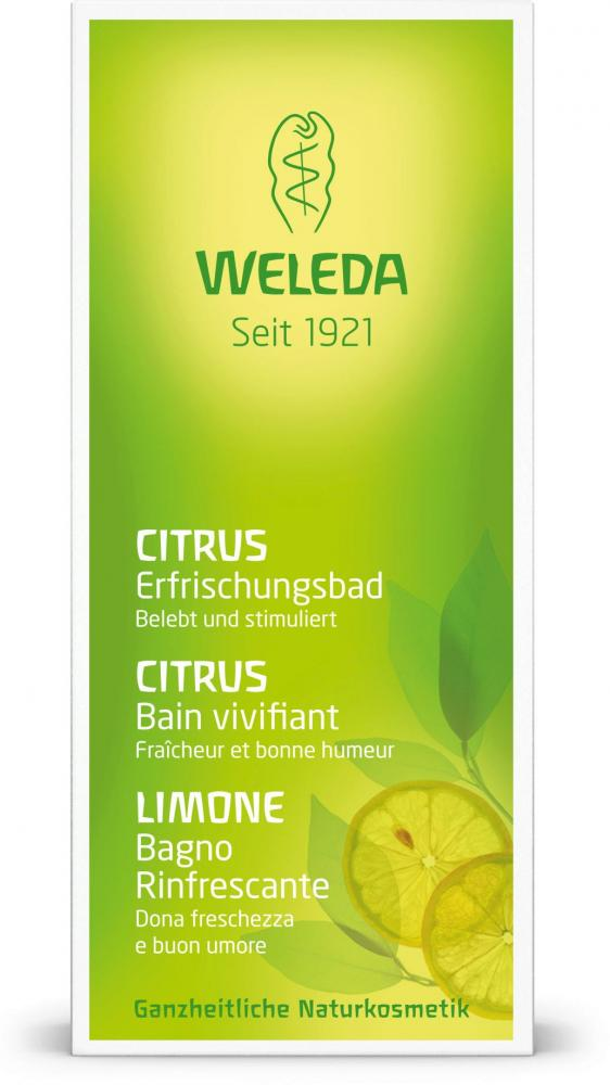 Weleda Citrus Refreshing Bath Milk 200ml