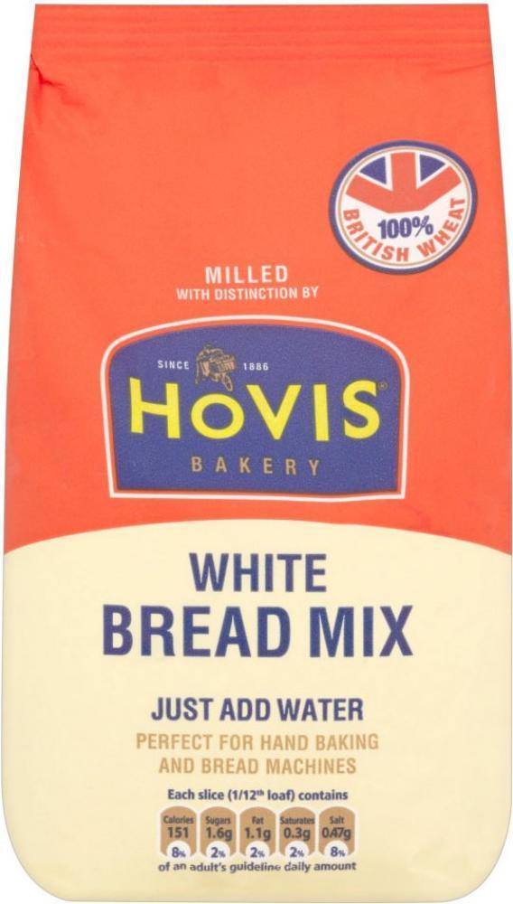 Hovis White Bread Mix 495g