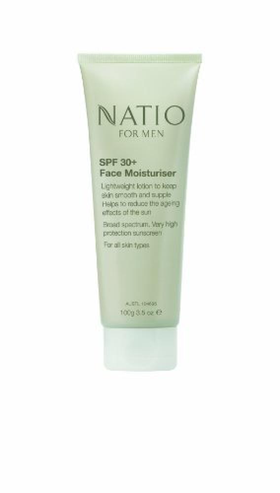 Natio Natio for Men 30 Plus Face Moisturiser 100g