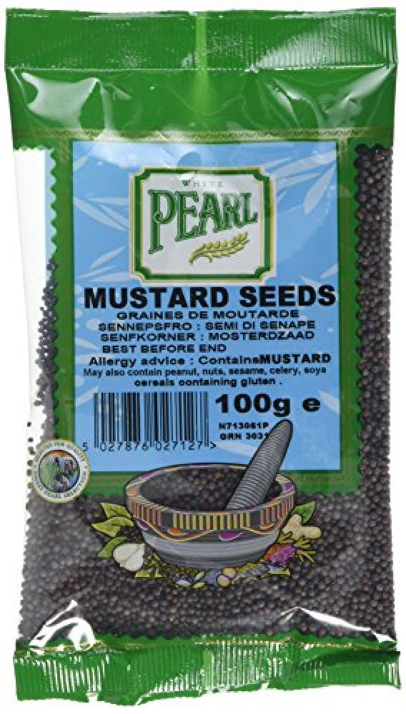 White Pearl Mustard Seed 100g