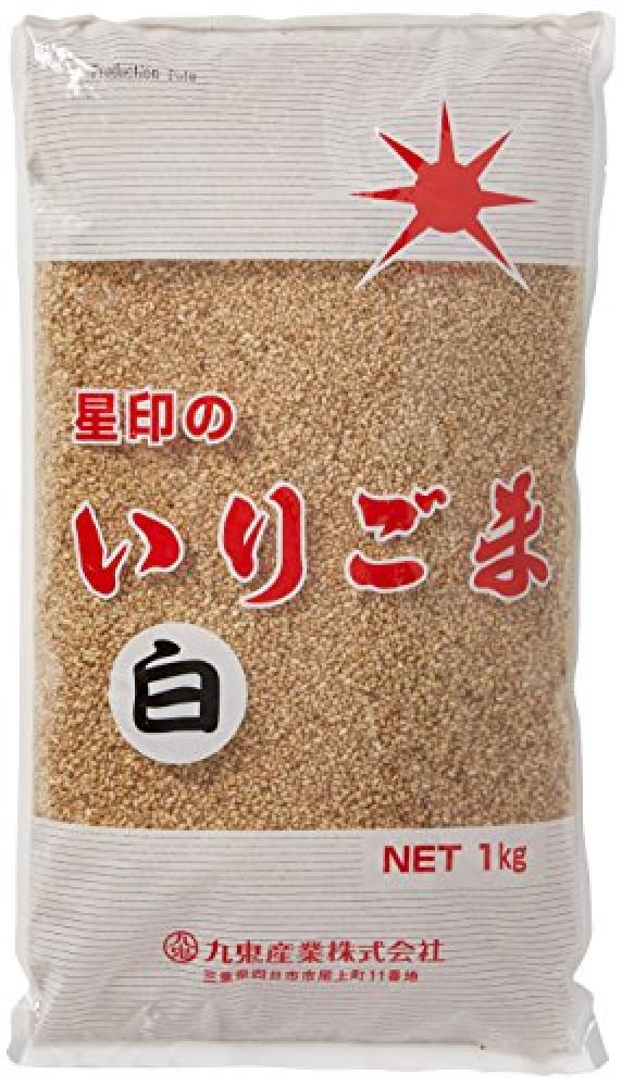 Hoshijirushi White Sesame Seeds 1kg