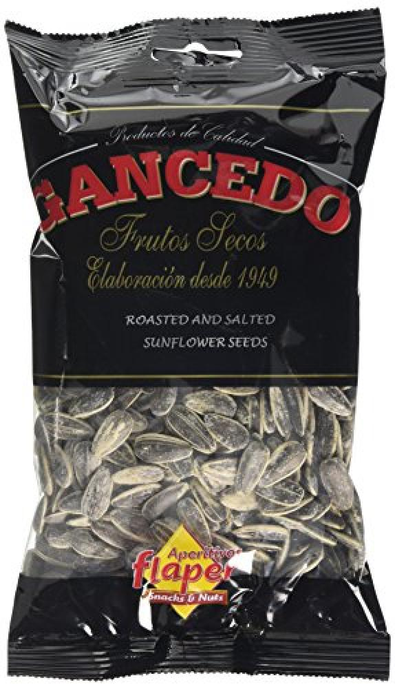 Gancedo Pipas Roasted And Salted Giant Sunflower Seeds 125g