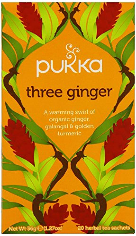 Pukka Organic Triple Ginger 20bags