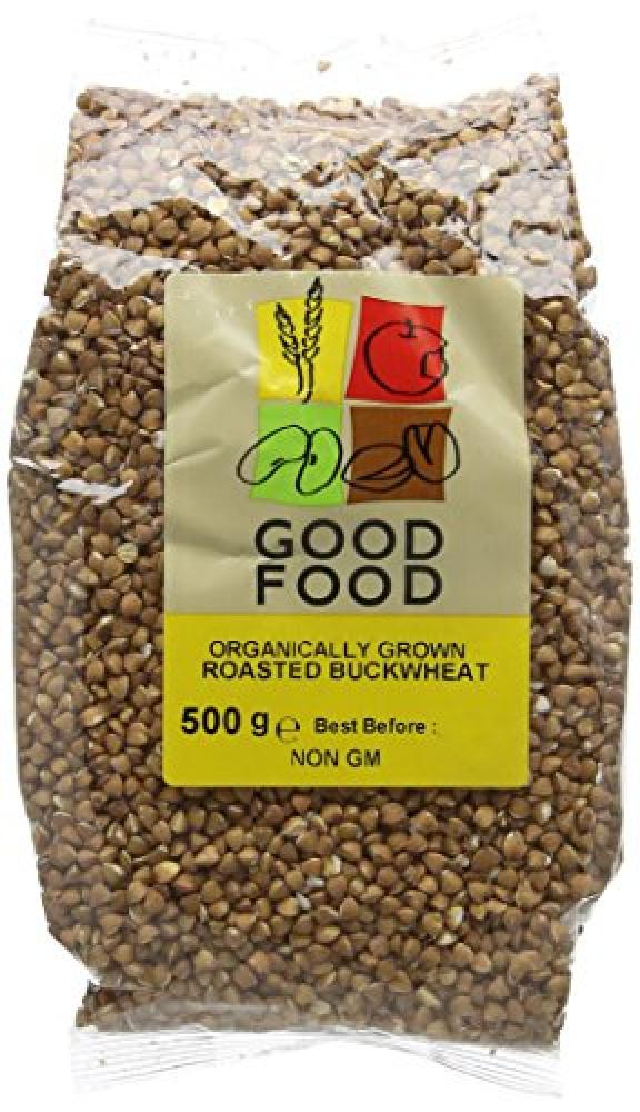 Mintons Good Food Organically Grown Roasted Buckwheat 500g