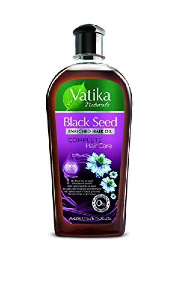 Vatika Naturals Black Seed Enriched Hair Oil Complete Hair Care 200 ml